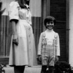 με το γιό της στη Γενεύη